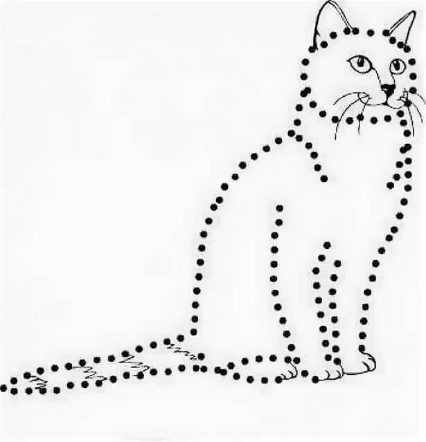 которые кошка пунктирная картинка первого поколения получаются