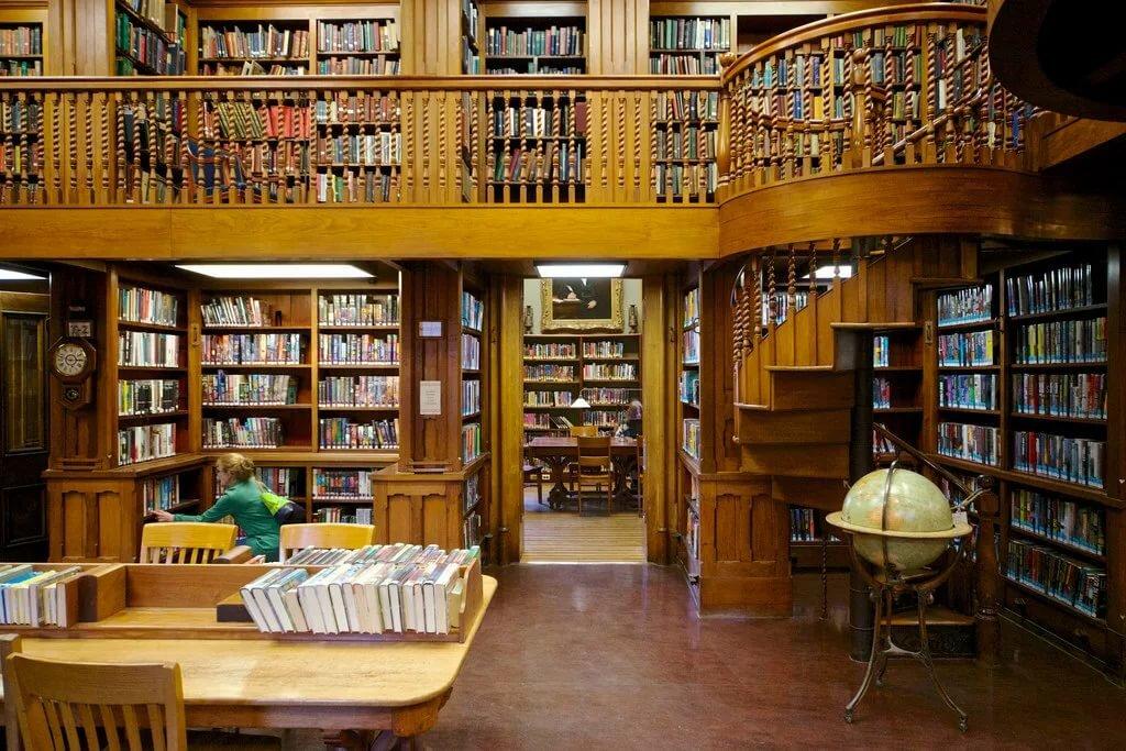 Библиотека на картинках и фотографиях отличие ритуалов