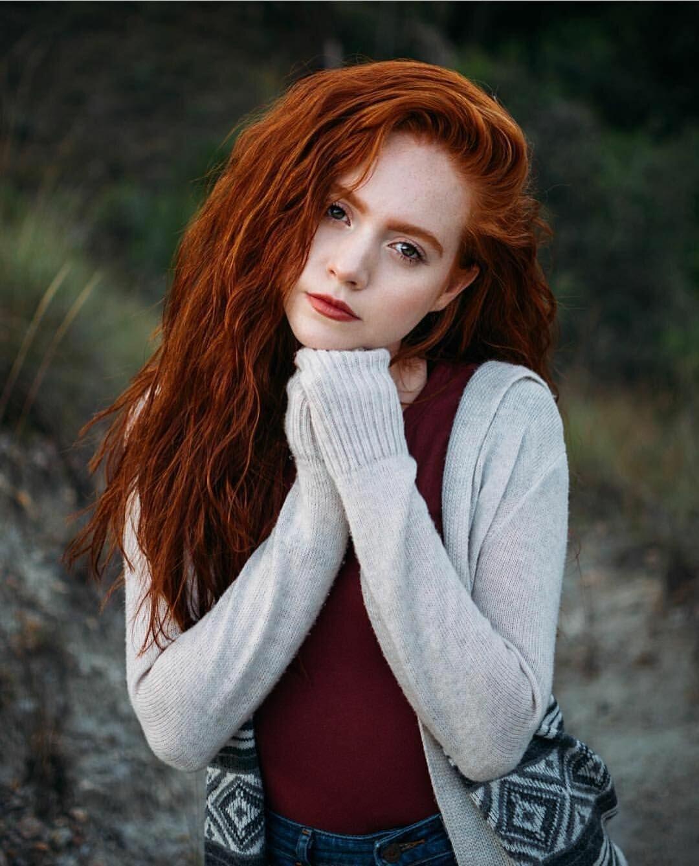 Redhead girl models — img 7