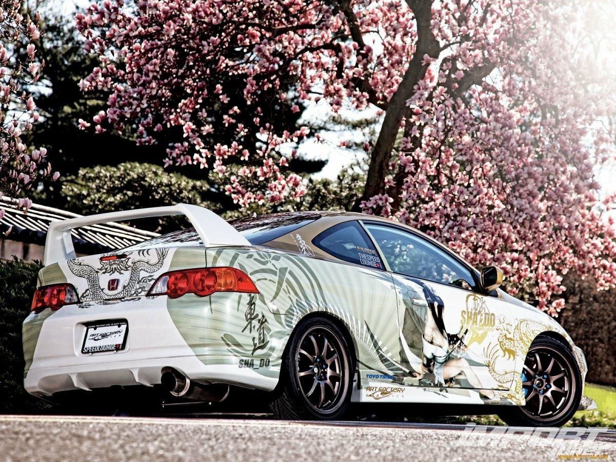 Японские картинки с авто