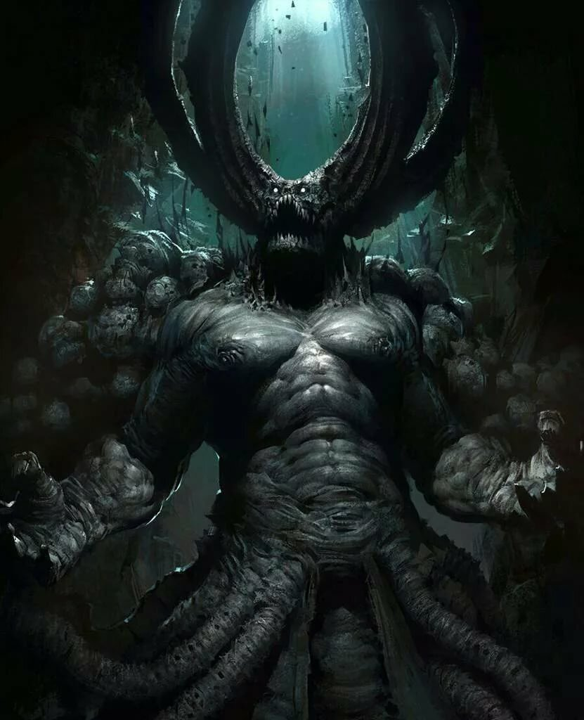Демон времени картинки