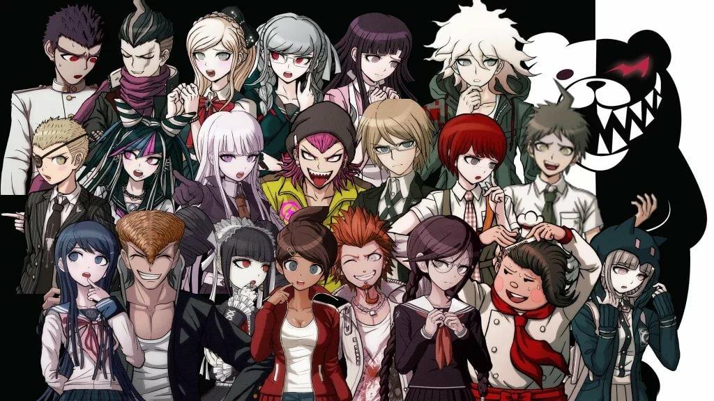Школа отчаяния персонажи