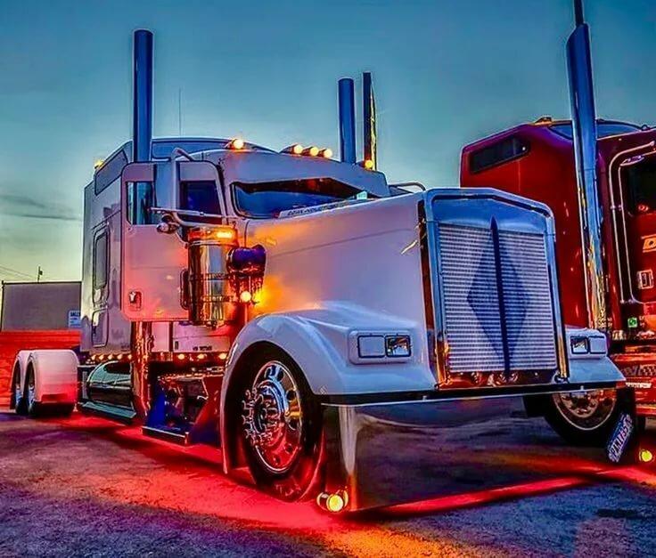 Картинки тюнинги грузовиков
