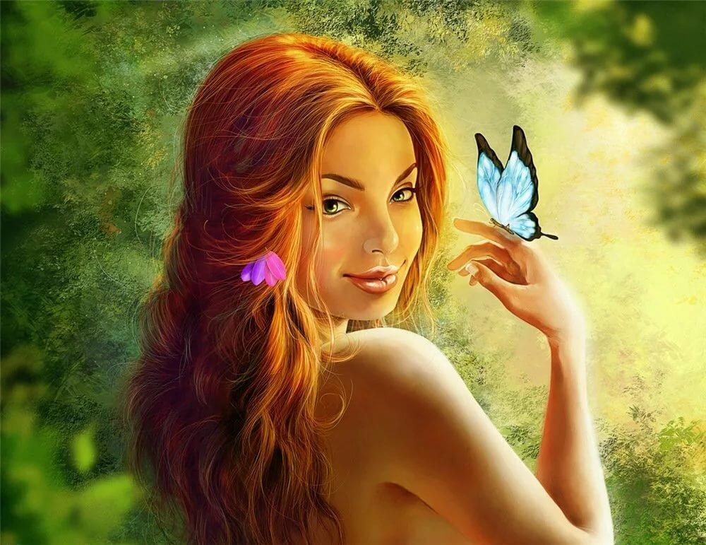 насекомые рыжее феи в картинках что это напрягает
