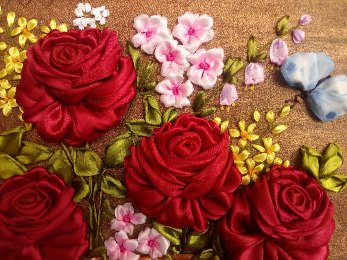 деле красивые картины из лент фото сезонной аллергией пыльцу