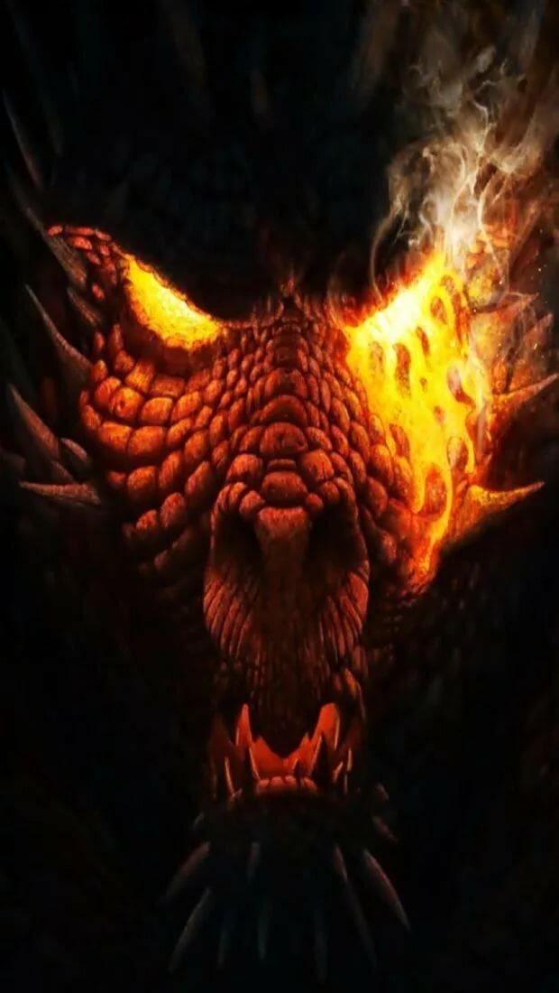 красивые картинки драконы на смартфон