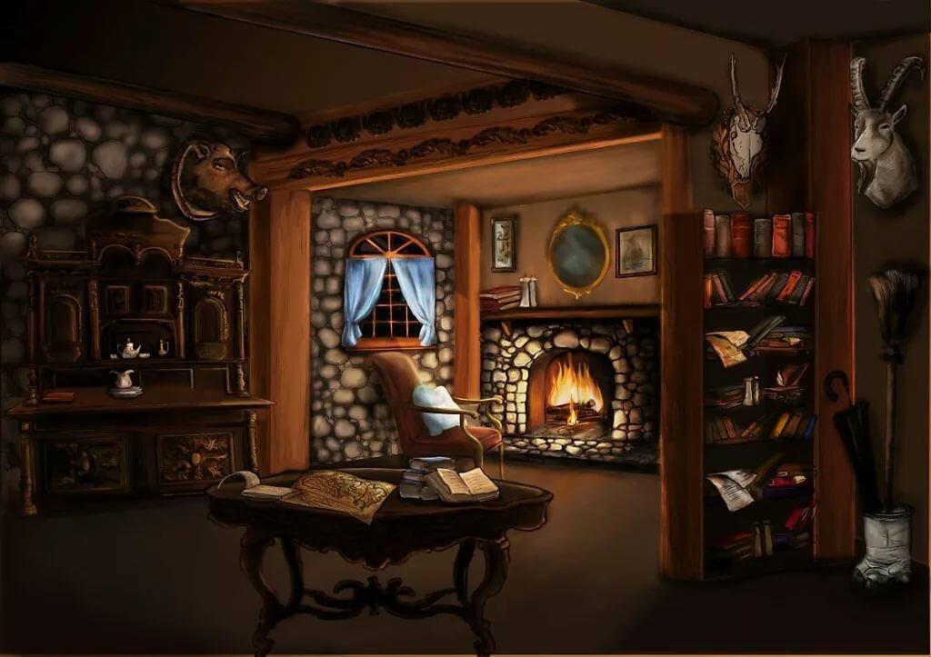 комната изнутри картинка остаешься единственным человеком
