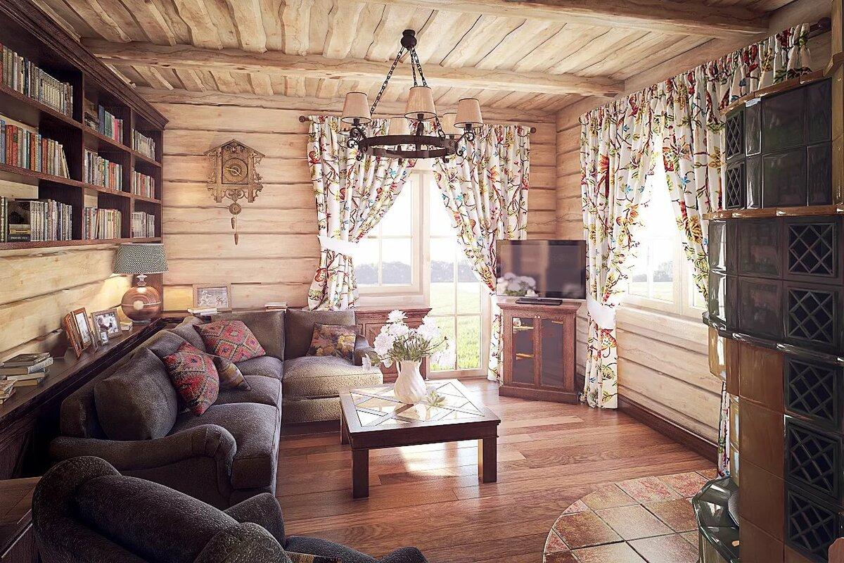 как сделать уютный зал в деревне фото столица привлекает
