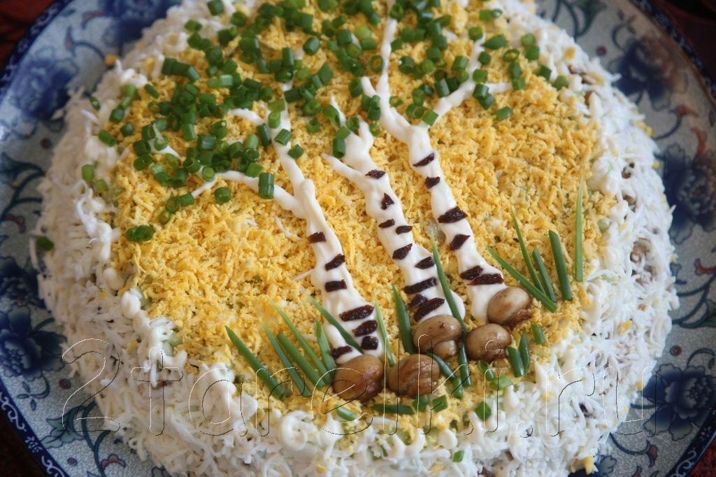 Салаты рецепты в картинках на день рождения