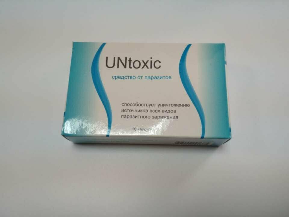 UNtoxic от паразитов в Днепродзержинске