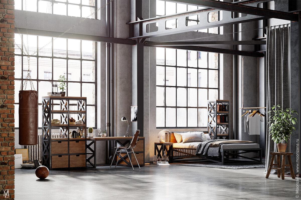 новые индустриальные стили мебели и их фото классификация