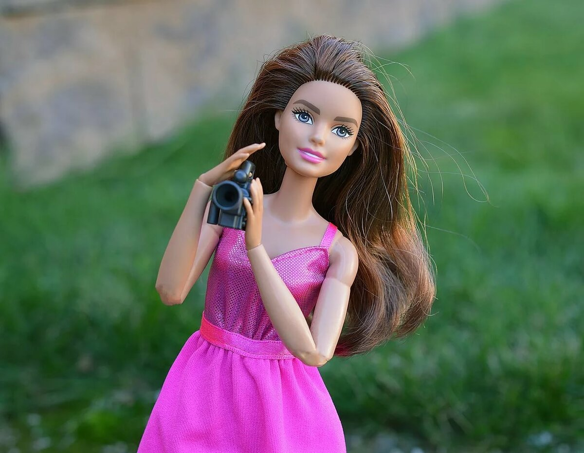 меня картинки кукольный барби фиолетово-голубые