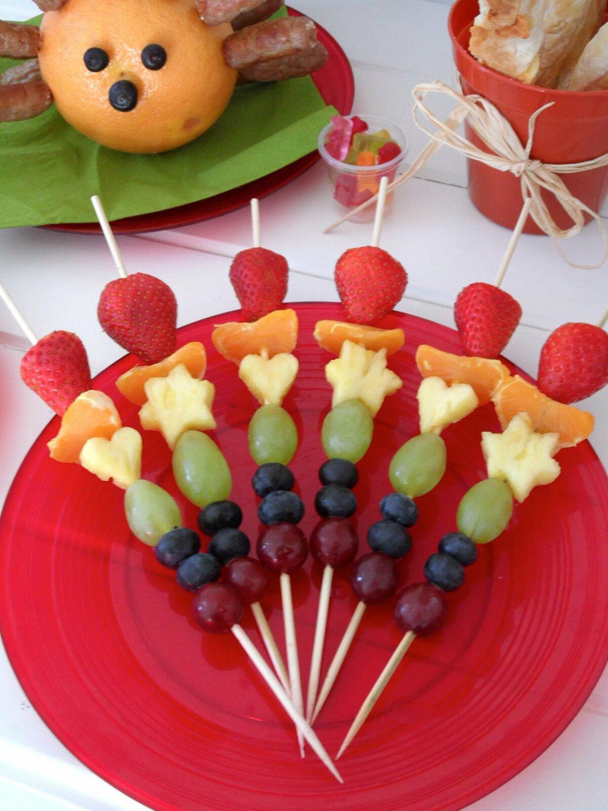 Блюдо на день рождения ребенку с картинками