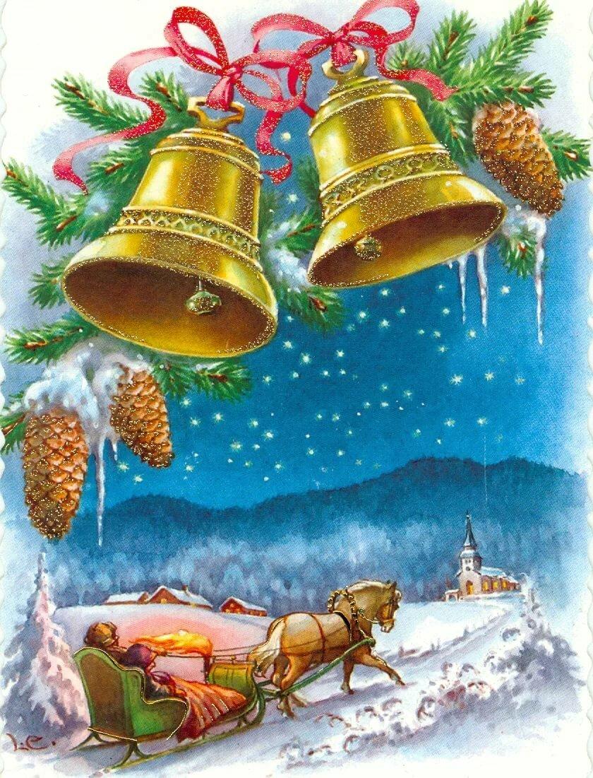 Новые рождественские открытки