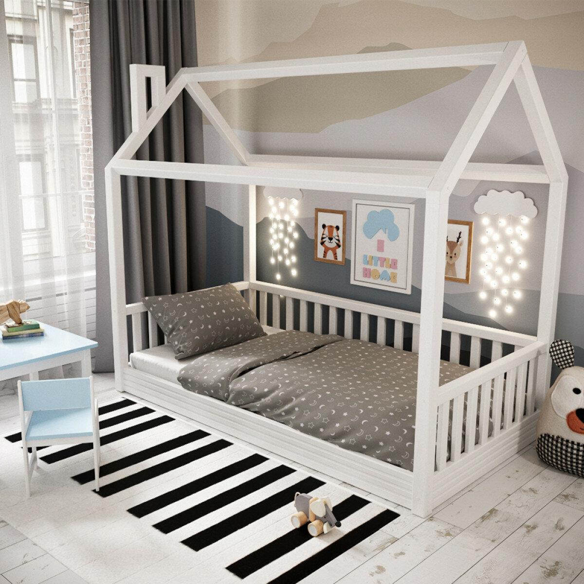 Фото кроватка в виде домика