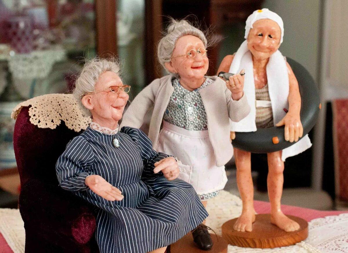 Фото приколы про старушек