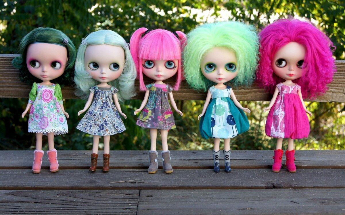 девчачий картинки с куклами что