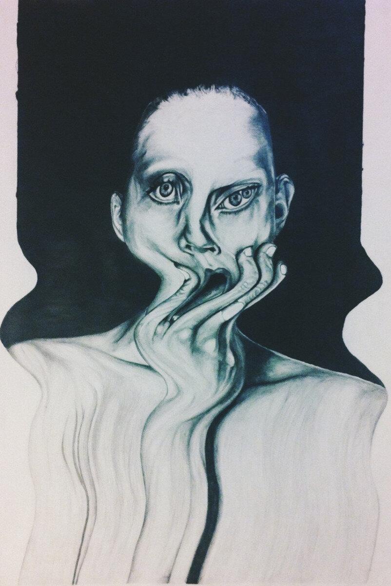 Психические нарисованные картинки