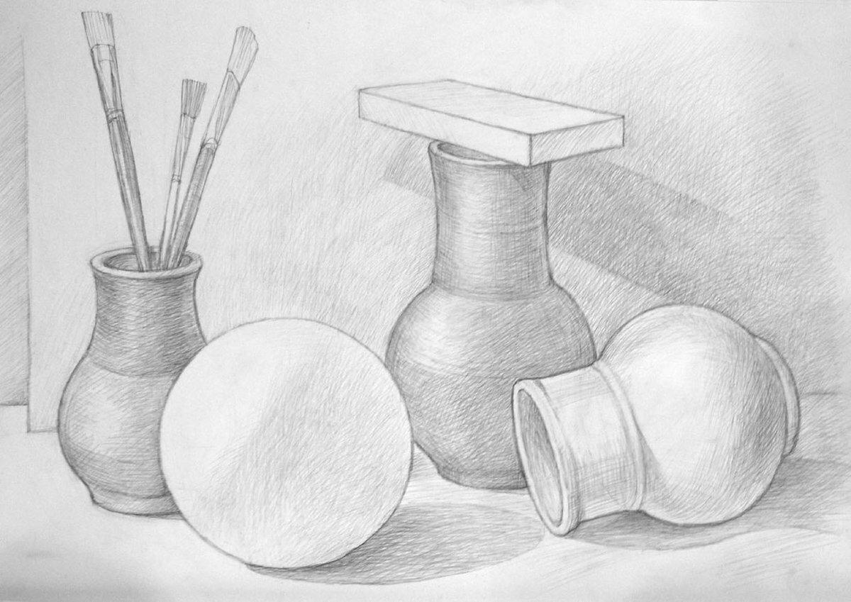 Картинки карандашом на урок изо