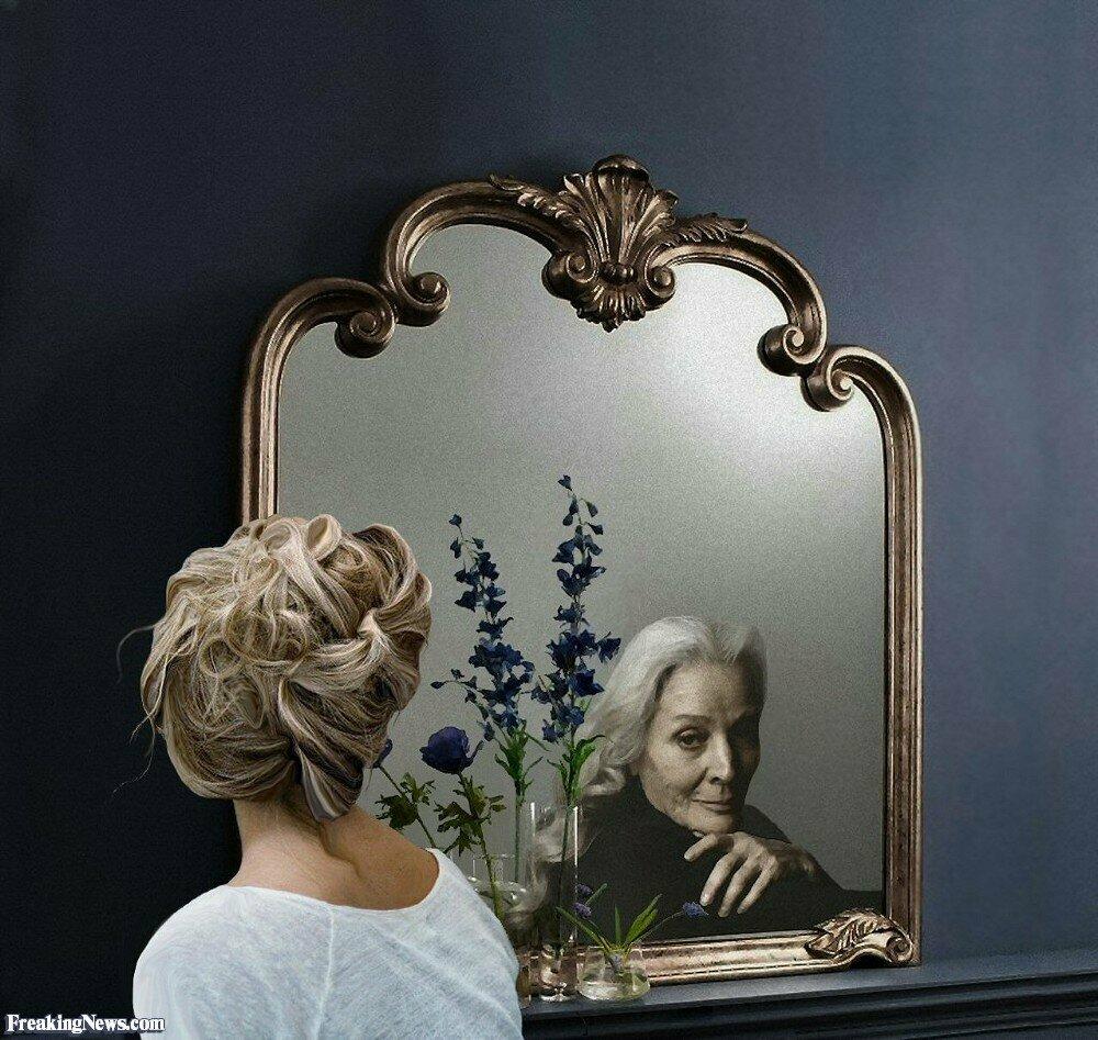 Женщина зеркало картинка
