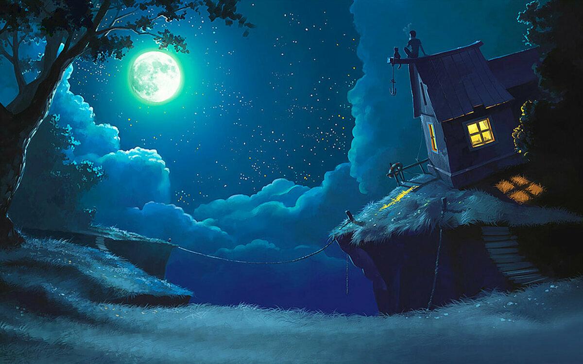 Картинки природы перед сном