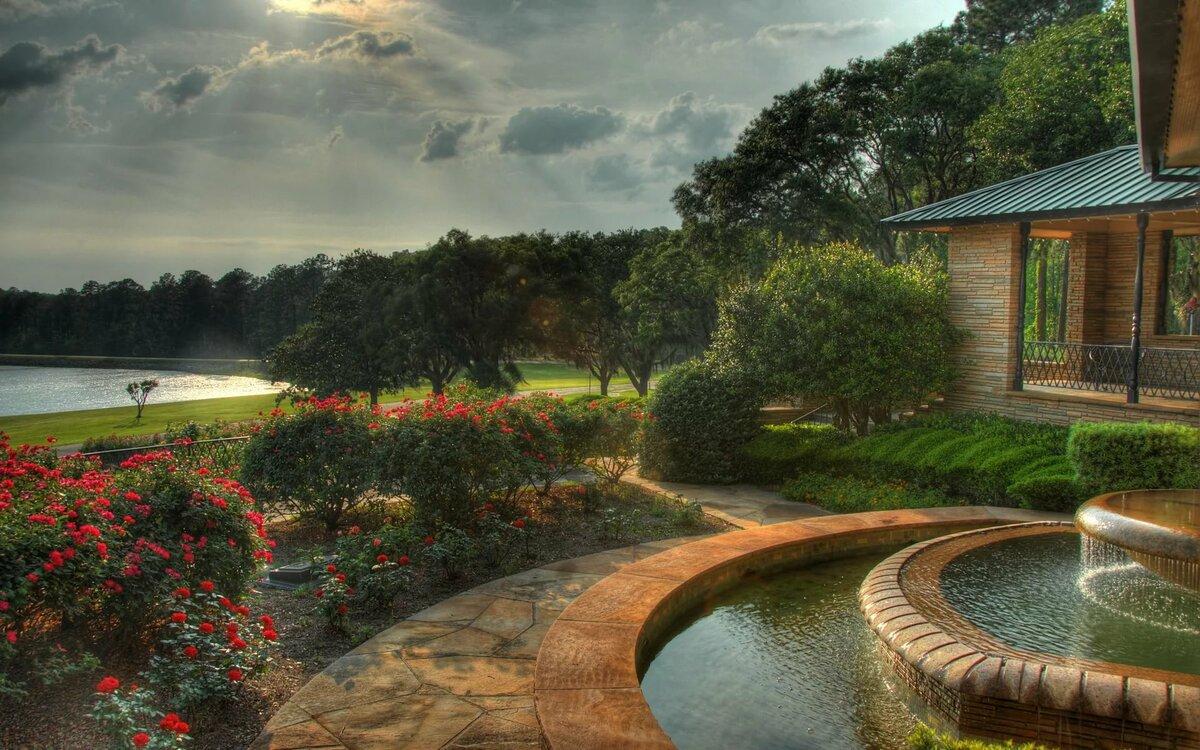 выбрали картинки вид сада с озером отзывы все советуют