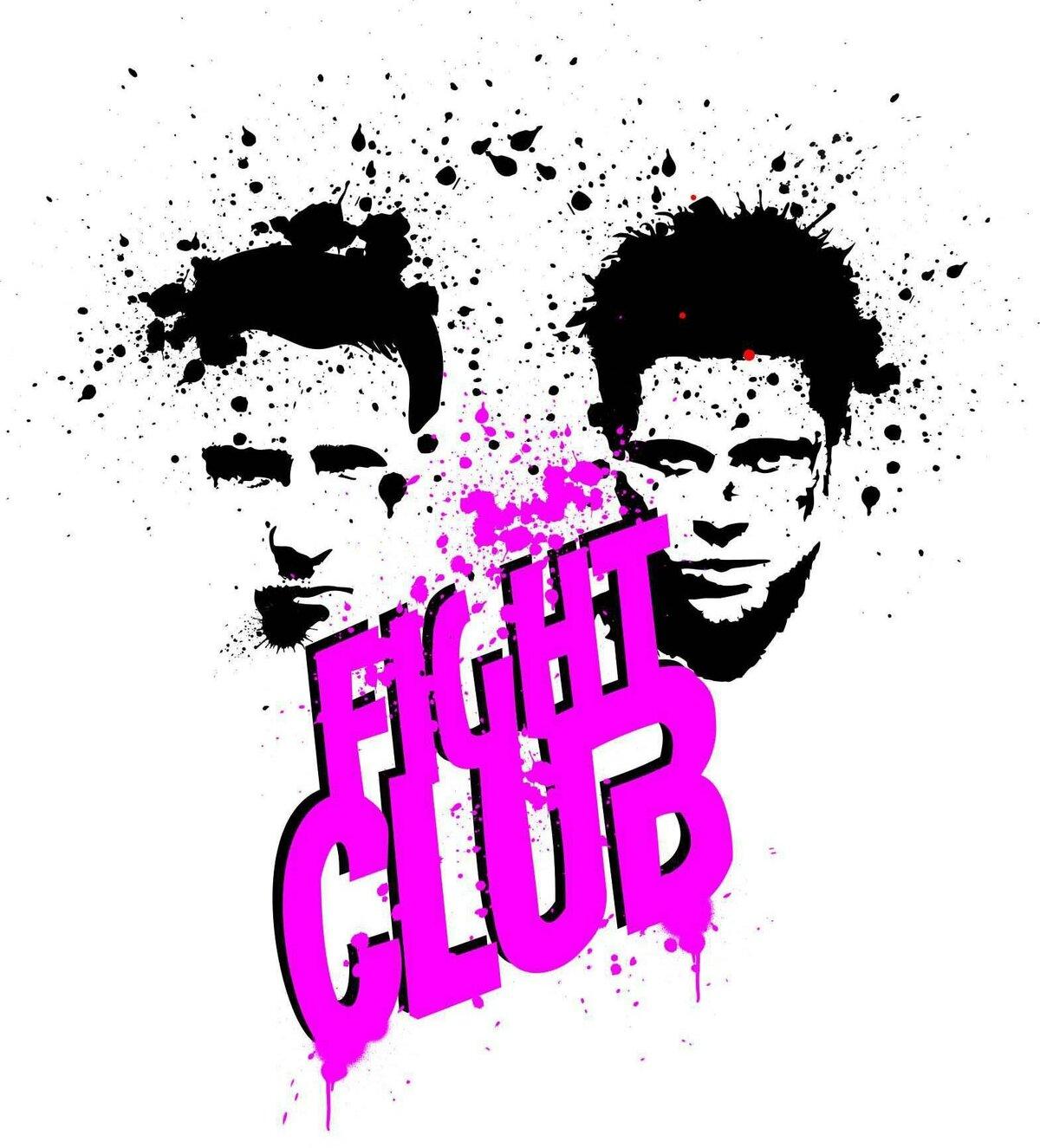 картинки на тему бойцовский клуб