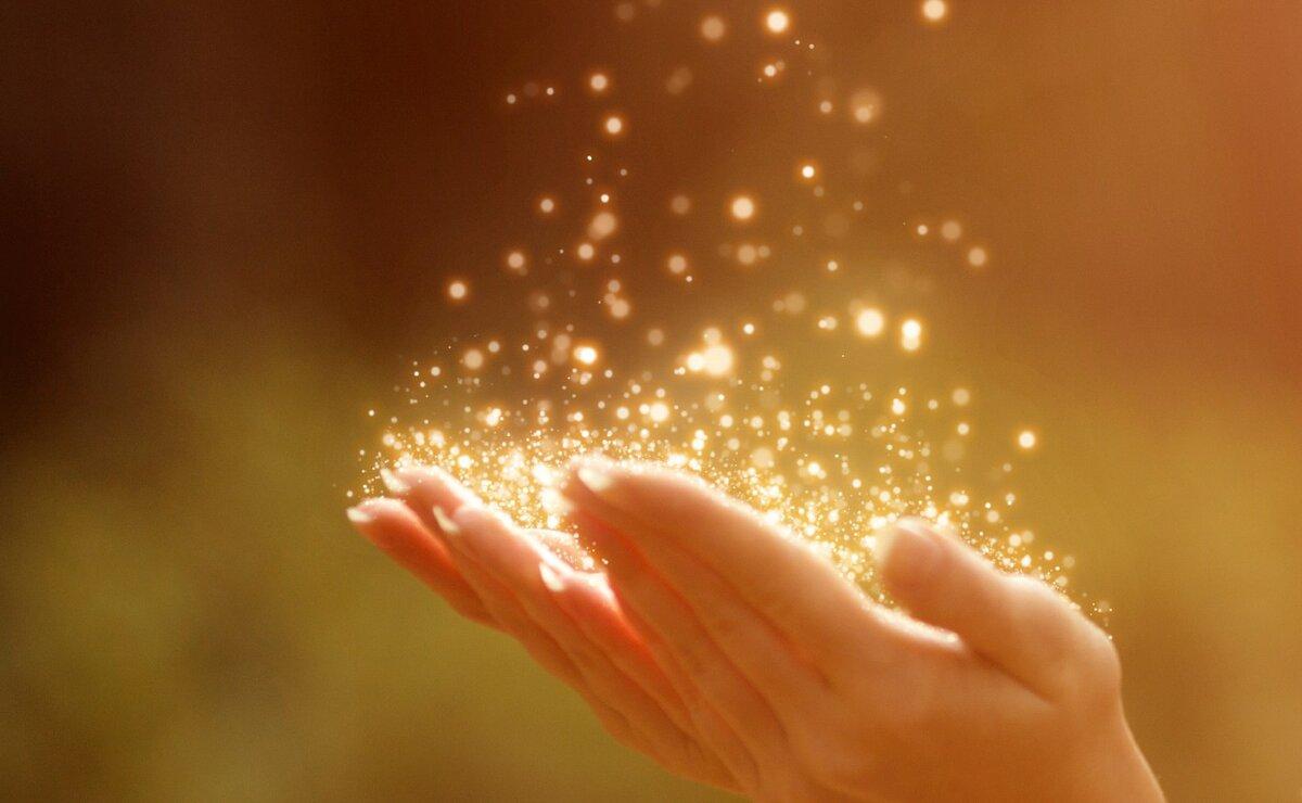 Волшебство в руках картинка