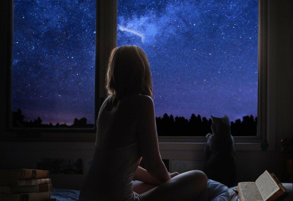 Окна в ночи картинки