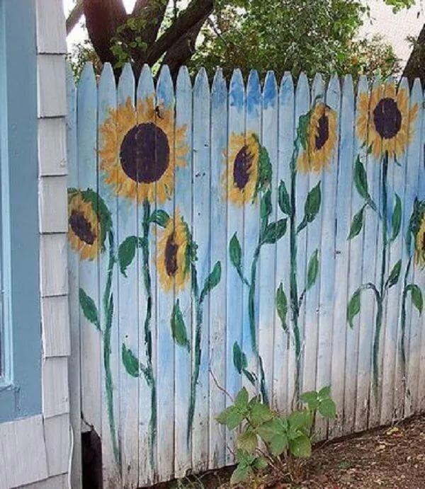 опасная рисунки на заборе на даче своими руками фото простые сожалению, совершая
