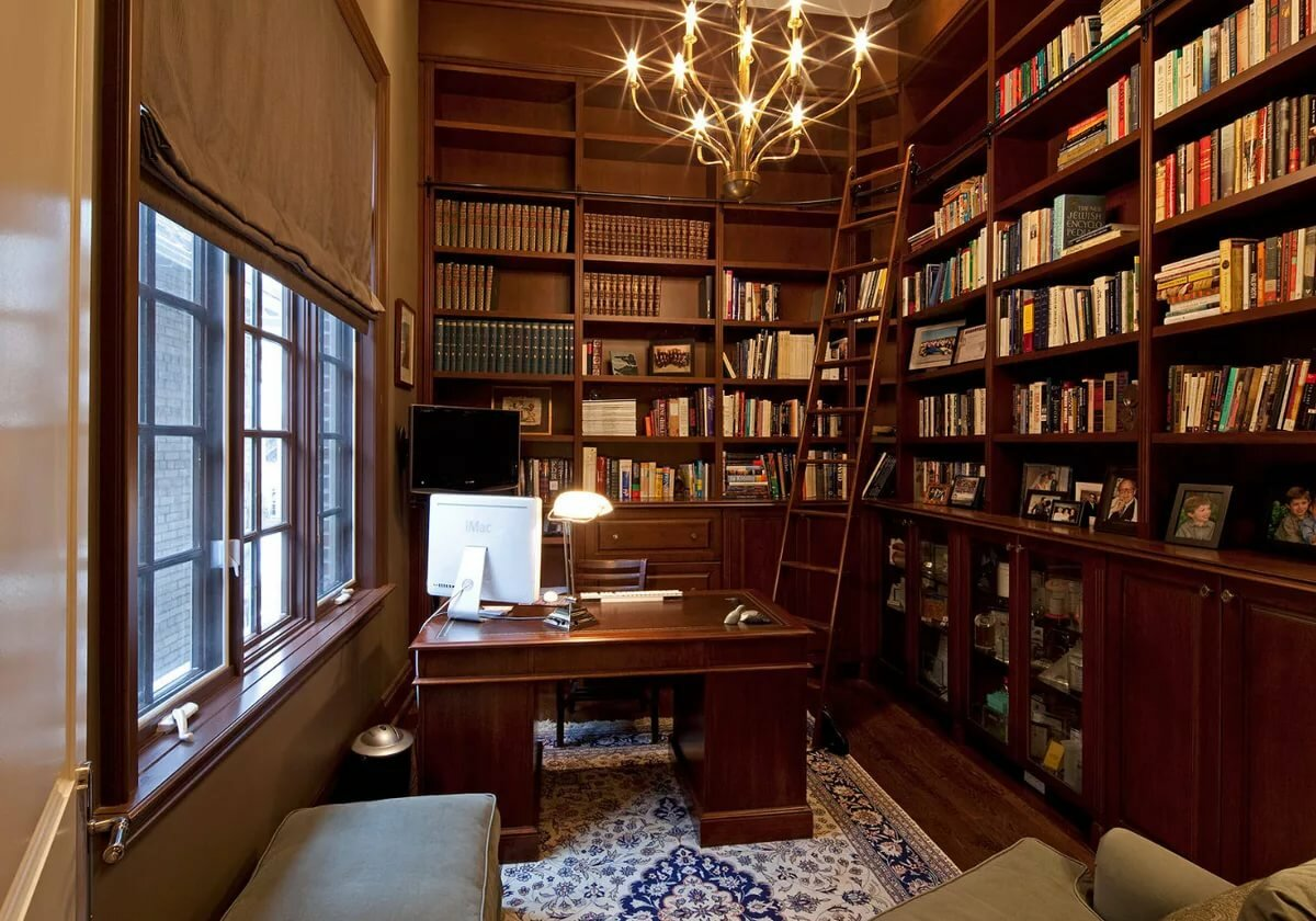 Домашняя библиотека картинка