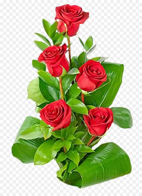 открытка розы вертикальная