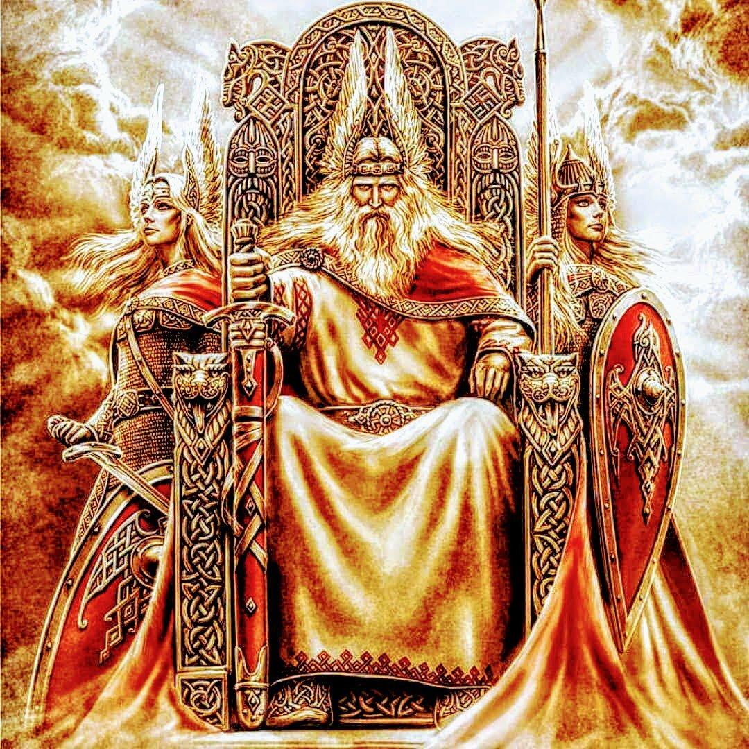 Лики славянских богов фото