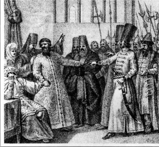 1 октября 1610 года правительство «Семибоярщины» ночью тайно впустило в Москву польские войска