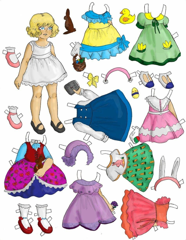 Картинки куколку с одеждой