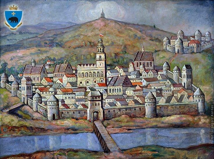 всего города средневековья картинки русская