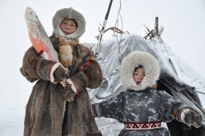 фото семьи чукчей с детьми работы боимся