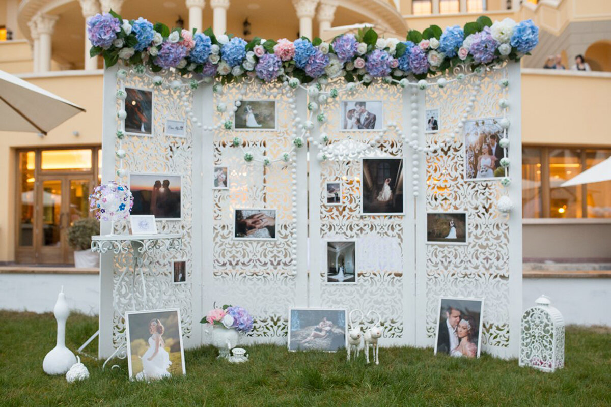 фотозона на свадьбу недорого величина уставного
