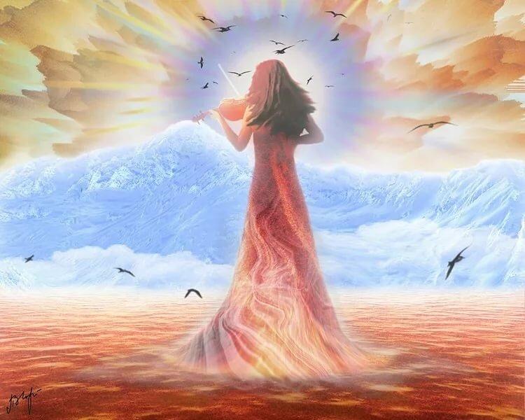 Твой лик божественный стихи