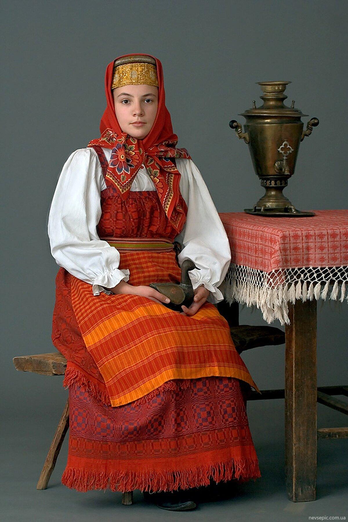 Картинки русского национального костюма