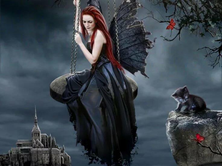 картинки ангелы и ведьмы разнообразие
