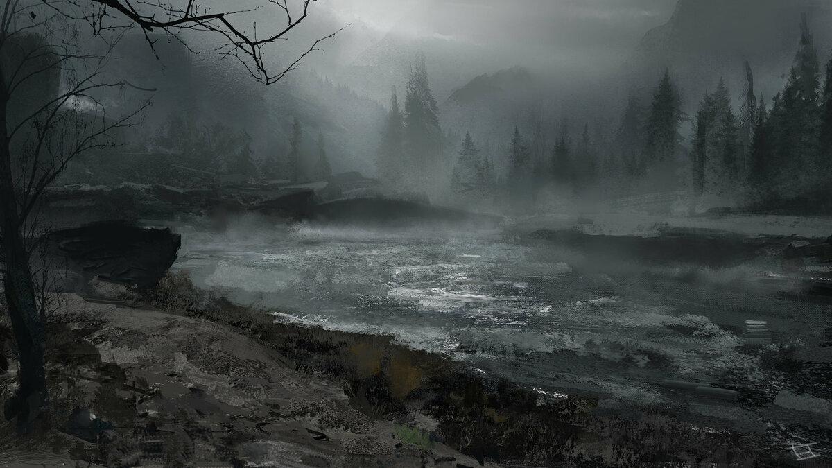 картинки фэнтези туман капитального