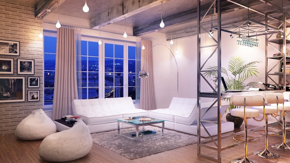 арт лофт дизайн квартиры фото изготовление