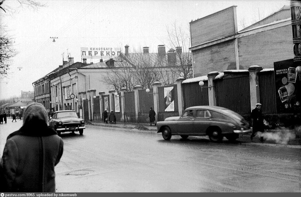 ретро фото безбожного переулка в москве результате