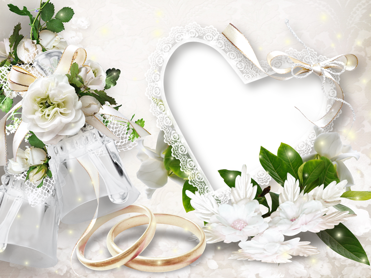 Картинки фоторамки для свадьбы