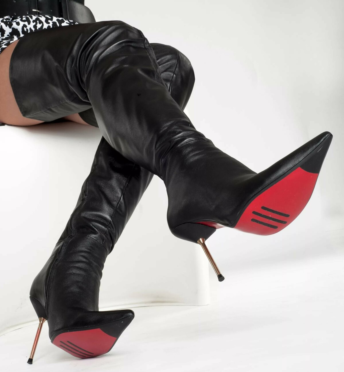 Womens shoe boots erotic