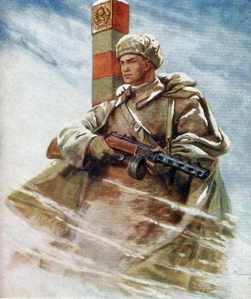 Открытки я русский солдат