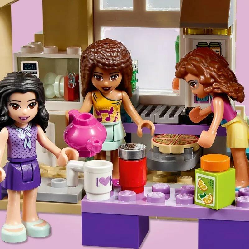 Лего френдс картинка дом дружбы