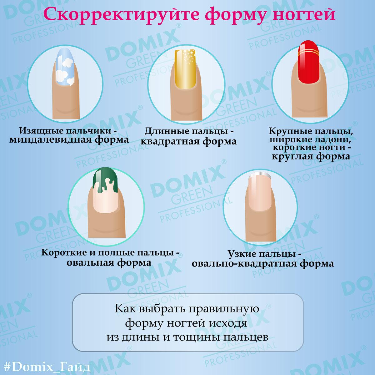 Каким рукам какую форму ногтям придать фото