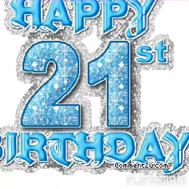 поздравление знакомому с днем рождения 21 год